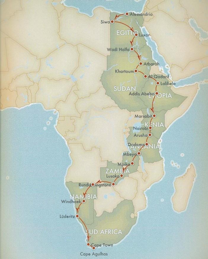 Transafrica_Mappa